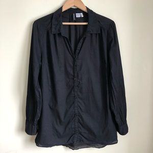 H&M Divided oversized button down shirt